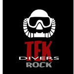 Tek Divers Rock CCR T-shirt