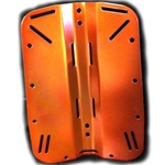 Aluminum Backplate Orange Anodized