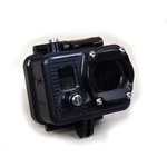 Deep Golem GoPro Camera Housing with Compact back - rated to 1000ft