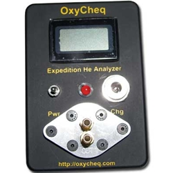OxyCheq Expedition Helium Analyzer