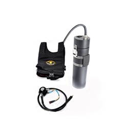 Q-Vest - Drysuit Heating system with 20 Ah Light Monkey Li-PO battery and E/O connector
