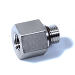 Swagelok Adapter, 9/16-18 Male SAE/MS Straight Thread x 1/4 in. Female NPT