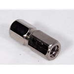 "Adapter 1/8 NPT Female to 3/8-24"" Female"