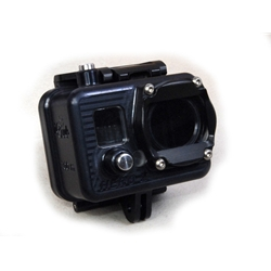 Golem GoPro Camera Housing with Compact back - rated to 1000ft