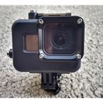 GoPro Housing for GoPro Hero 5, 6 and 7 Black cameras- rated to 500ft