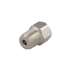 1 4 Npt >> Golem Gear Inc Adapter 1 4 Npt Male To 9 16 Quot 18 Female
