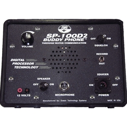Buddy Phone® 2 Channel Surface Station, Includes 35' Transducer Cable & Hand Held Microphone
